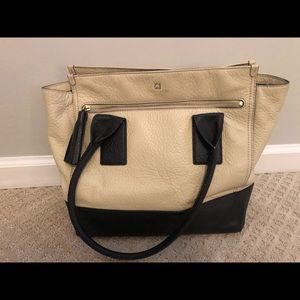 Kate Spade Cream/Black bag